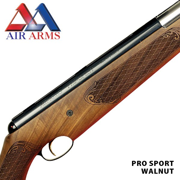 Pro Sport Walnut WITH FREE RIFLE SLIP, PELLETS AND TARGETS