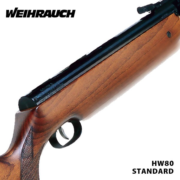 Weihrauch HW80k WITH  PELLETS AND TARGETS
